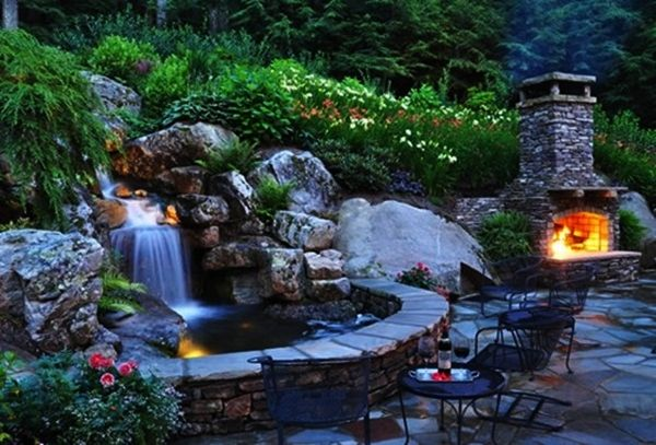 24 best images about water garden pond on pinterest backyard ponds ponds and water features - Cheap pond ideas ...