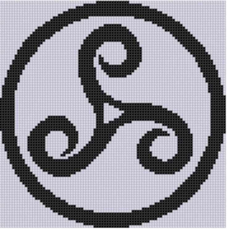 Celtic Pattern Cross Stitch Pattern