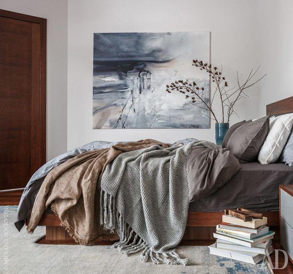 Дом в Подмосковье для любителя искусства и минимализма | AD Magazine