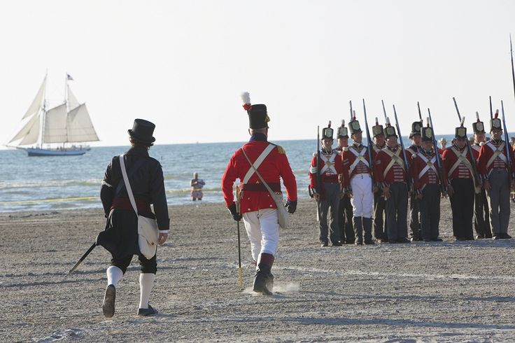 Watch out! Enemy forces are once again planning to attack Wasaga Beach! Join us in commemorating the 1814 sinking of the H.M.S. Nancy in the Nottawasaga River at Nancy Island Historic Site Saturday, August 15, 10.00am until 6.00pm and Sunday August 16, 10.00am until 4.00pm. For two days, re-enactors will transport you back to the War of 1812 through musket, cannon, and 3 line firing demonstrations, Native drumming and storytelling.