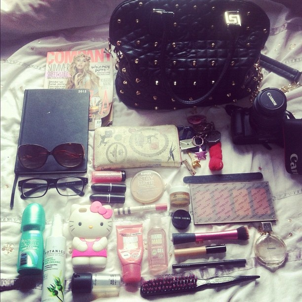 "@sararosewaldron's photo: ""@glossyboxuk #myglossyhandbag"""