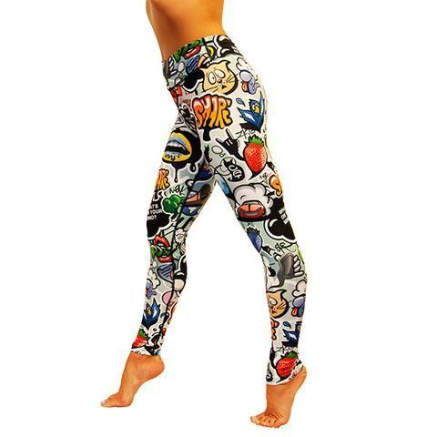 Tikiboo Graffiti Print Leggings £33.99