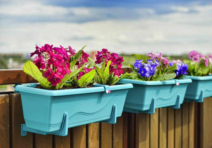 Self-irrigation window box Smart System Extra Line.