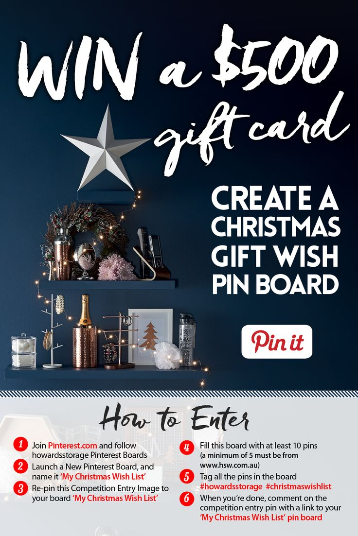 The closing date for this competition is FRIDAY 18th December. Good Luck everyone! #howardsstorage #christmaswishlist