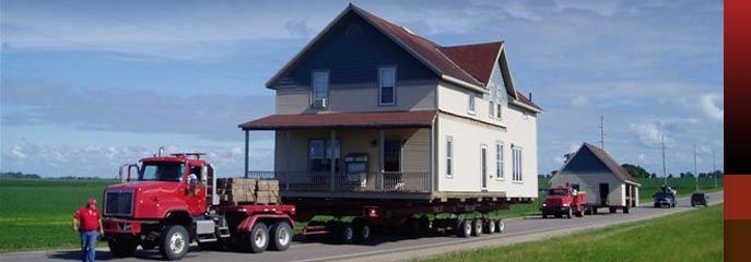 Thein Movers House And Structural Moving In Minnesota Home