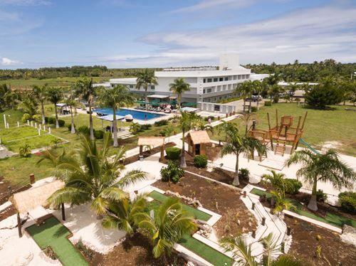 Scenic Hotel Tonga -Birds Eye View