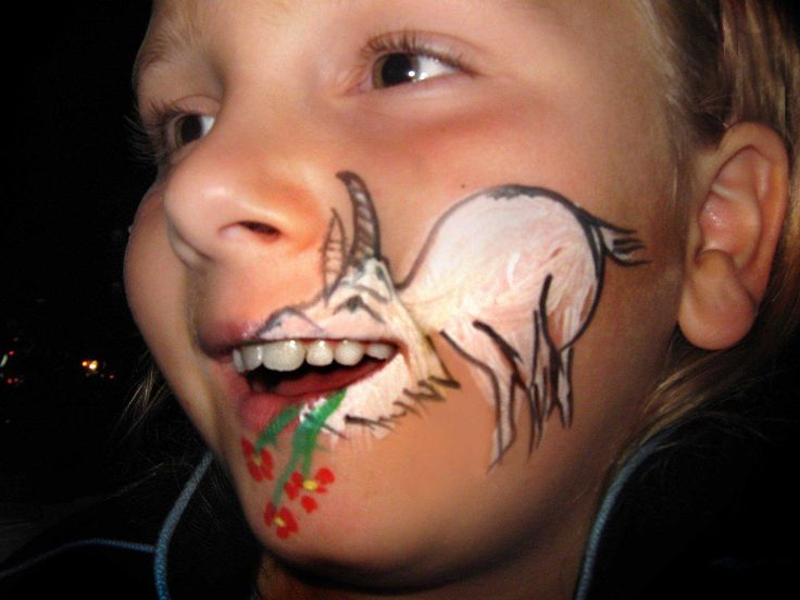 108 best christmas face paintings images on pinterest