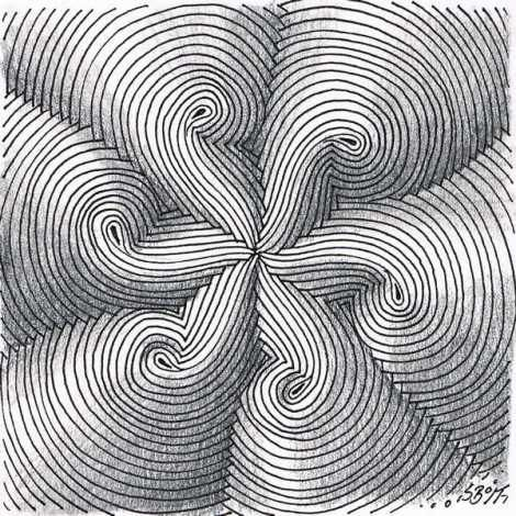Dansk pattern, drawn by Simone Bischoff  #doodle