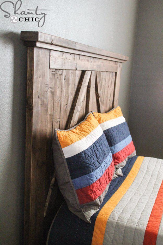 16 best master bedroom images on pinterest headboard for Easy do it yourself headboard ideas