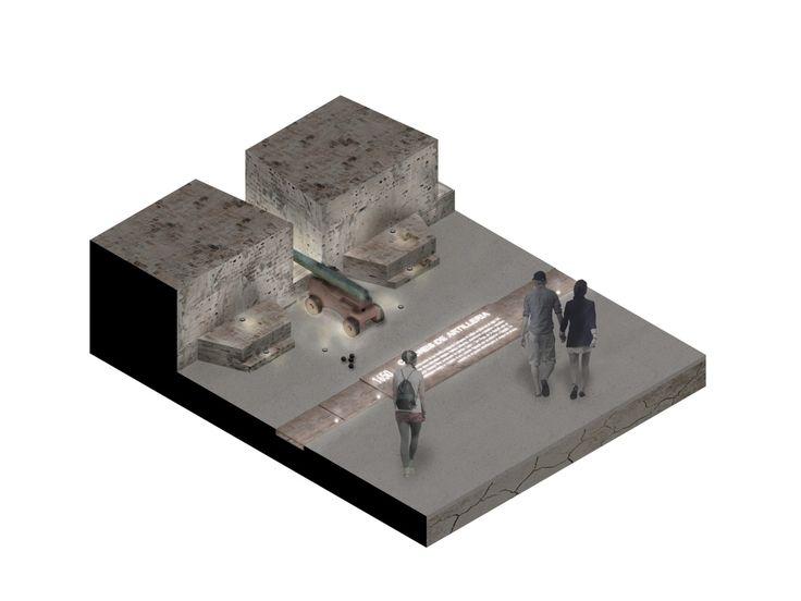 Galería de Este es el diseño de Colectivo720 + De Arquitectura y Paisaje que iluminará castillo en Cartagena - 16