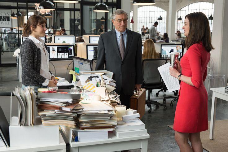 Veja #UmSenhorEstagiario nos cinemas, com Robert De Niro e Anne Hathaway.