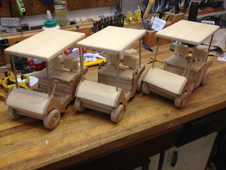 17 best images about wooden toys on pinterest toys for Golf cart plans