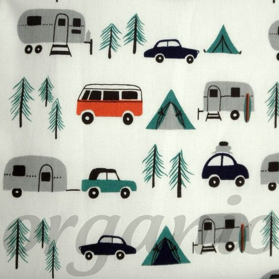 New Circa 60 by Birch Fabrics (Organic Happy Campers)