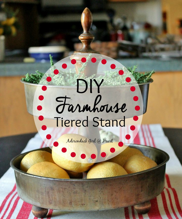 DIY: Farmhouse Tiered Stand