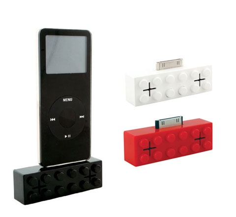 Ipod speakers are a must, how cool are these lego speakers!