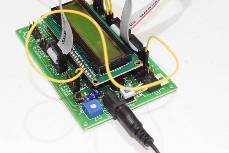 Analog to Digital Converter of AVR ATmega16 Microcontroller with LCD Display Connection Guide(10)