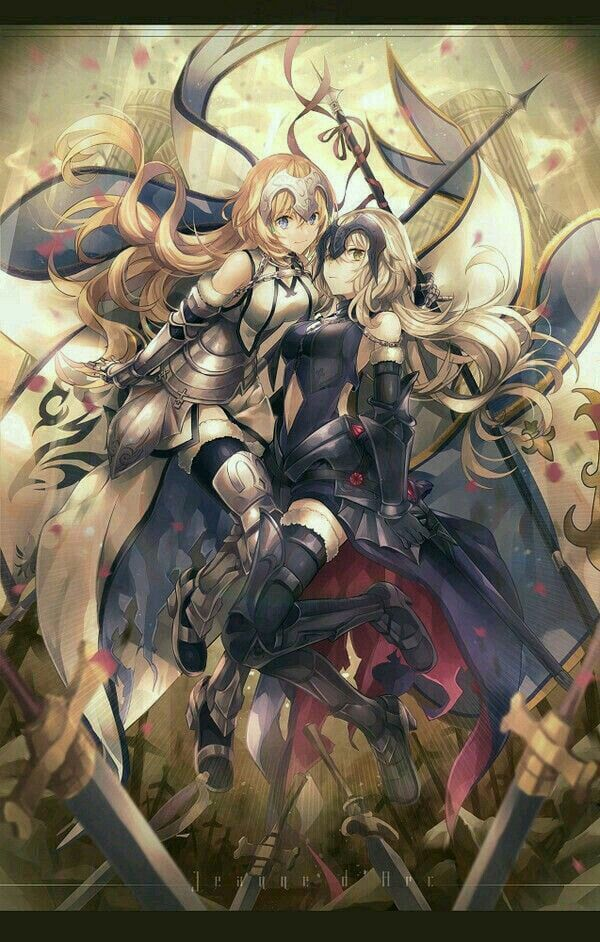 Anime Wall Scroll Poster Fate Apocrypha Ruler Joan of Arc Home Decor collection