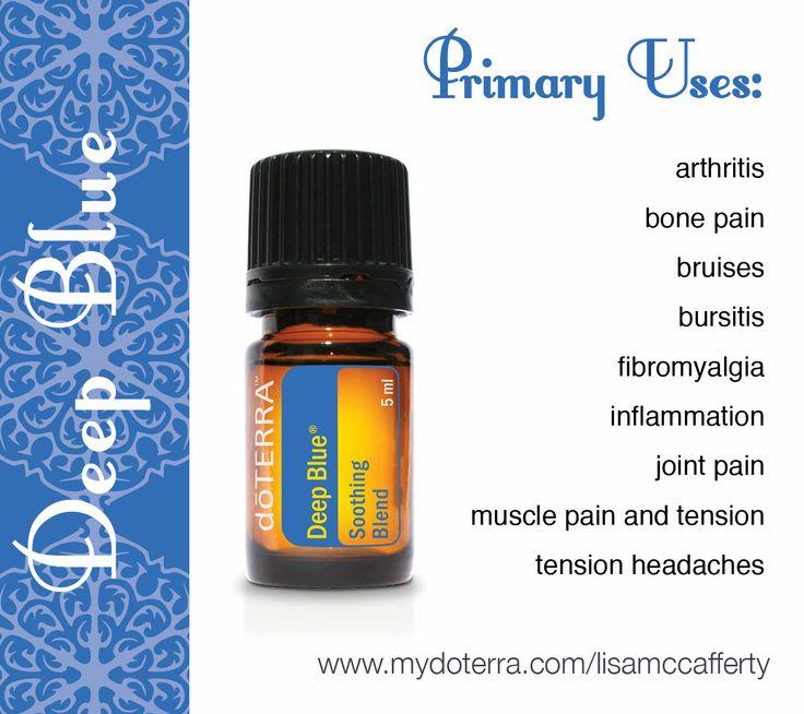 Deep Blue Doterra Doterra Oils Doterra Essential Oils