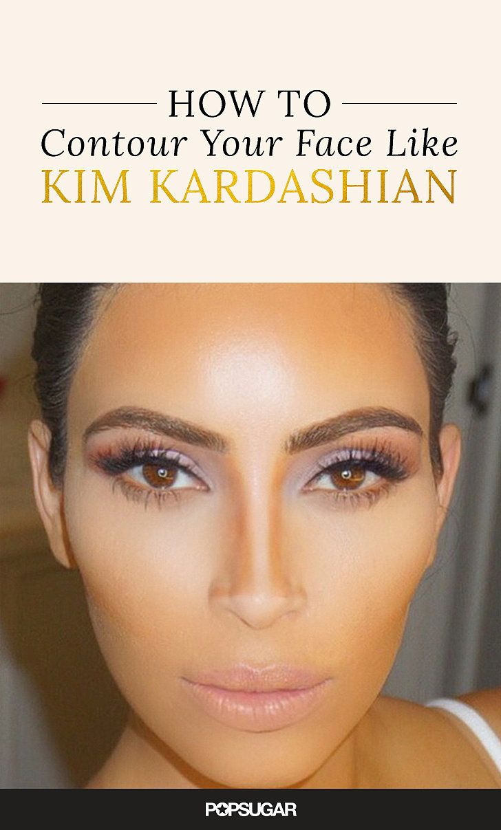 Best 20+ Kim Kardashian Foundation Ideas On Pinterest  Powder Contour,  Easy Contouring And Highlight Contour Makeup