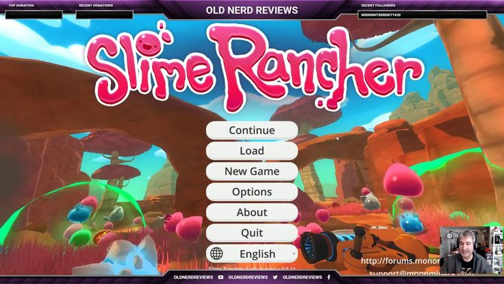 SLIME RANCHER And Chatting On Twitch #OldNerdReviews [REPLAY]