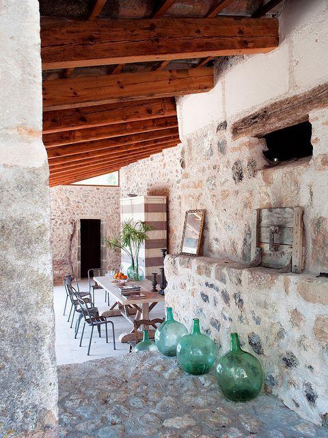 Casas de campo c mo decorarlas con estilo decoracion - Decoracion casas antiguas ...