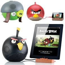 Angry Birds Speaker and Dock for iPod, iPhone and iPad