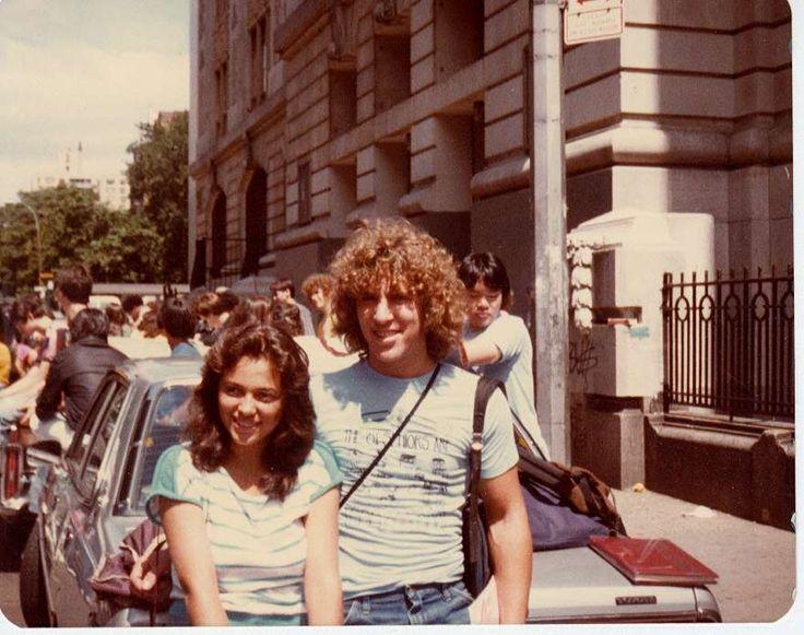 Outside Stuyvesant High School, circa 1980