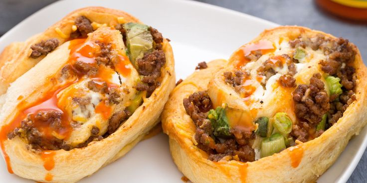 Best Beef Taco Roll-Ups Recipe - How to Make Beef Taco Roll-Ups