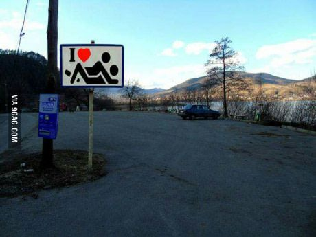 There's a parking lot in Piatra Neamt, Romania where you can literally have sex