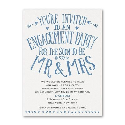17 best ♥Engagement Party Invitations♥ images on Pinterest - engagement party invites templates