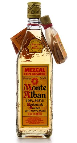 Monte Alban Mezcal: Here's Your Tequila Worm!