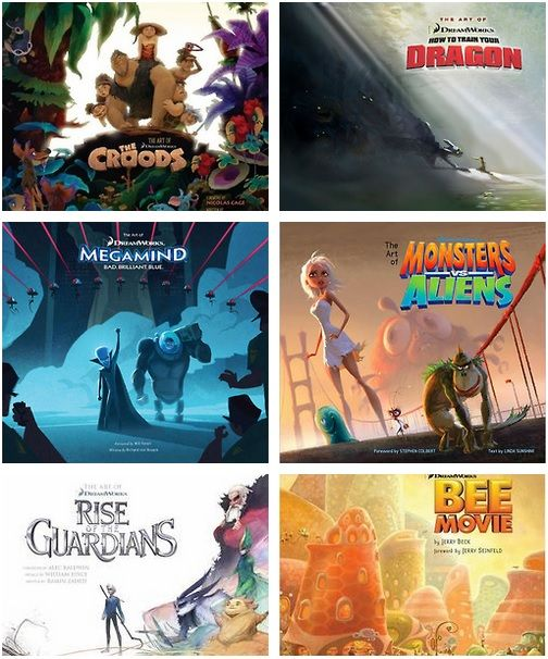 Dreamworks posters. LOVE THE HTTYD ONE!