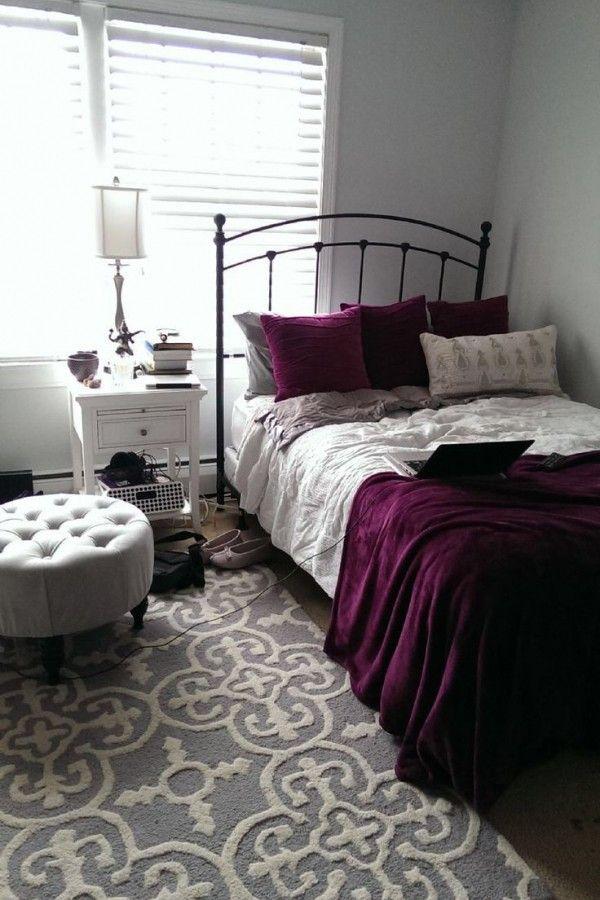Black And Burgundy Bedroom Ideas Maroon Room
