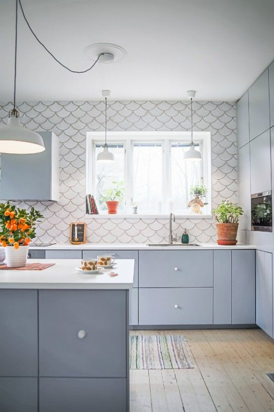 64 best White Kitchen Tile images on Pinterest White kitchens