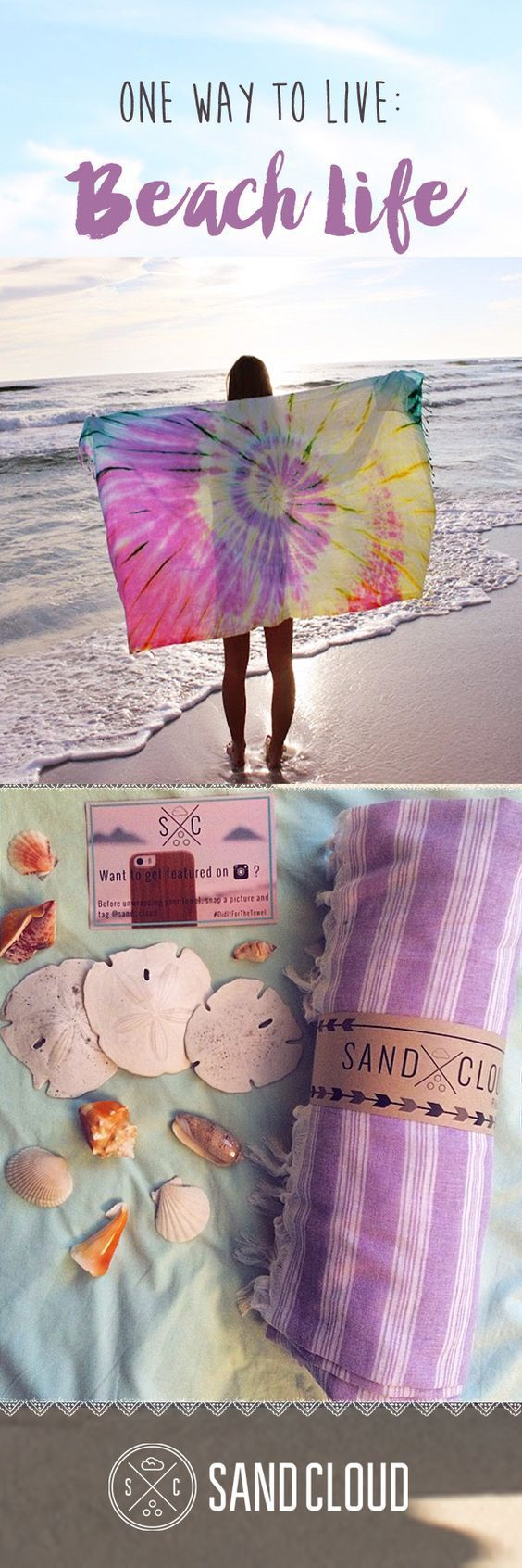 """Omg Do You Live For The Beach? I Am Obsessed With This Towel! I Even Use It As A Blanket, It's so soft! <3 Everyone Is Always Asking Where I Got It So I Figured I'd Share! Shoutout to My Mate For Taking This Awesome Pic of Me!     """"Discover the latest beach styles photographed on some of the most beautiful beaches in the world!"""":"""