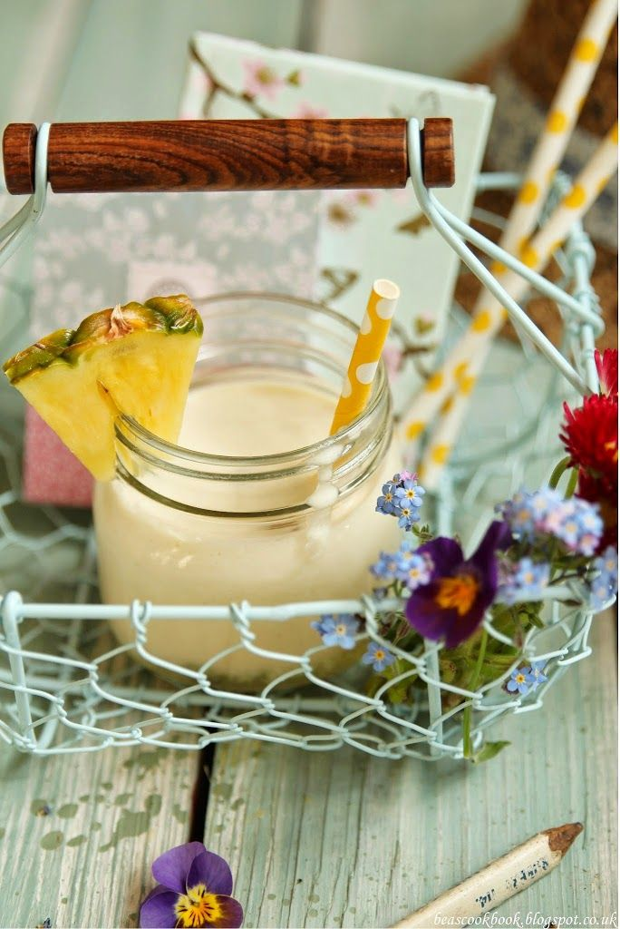 Drinking Baileys Colada to celebrate 1st year of blogging :D :D :D – Bea's cookbook