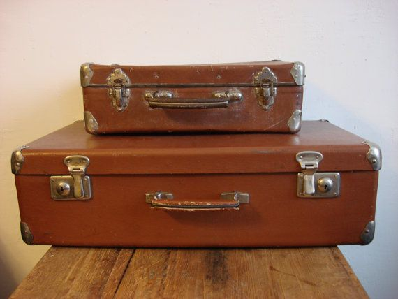 83 best Vintage suitcase's images on Pinterest | Vintage luggage ...
