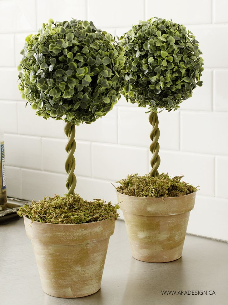We've been working on a little something in the kitchen. If you're on Instagram you may have seen what it is. But, while that project won't be ready to share until Monday, I thought it would be fun to whip up a little faux greenery for the space in the form of some DIY Topiary Trees. 'Cause... Read More »