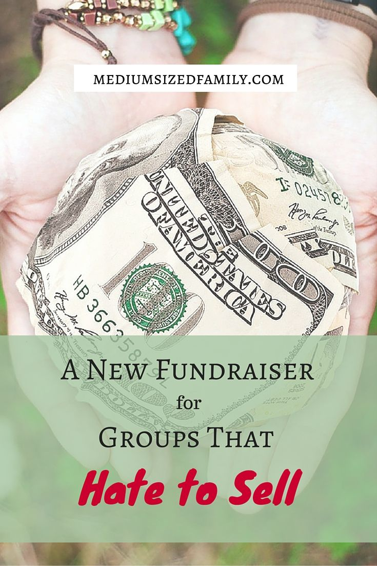 Does your team or group need an easy fundraising idea? If you hate to sell things but need to raise money, you'll love this simple idea!