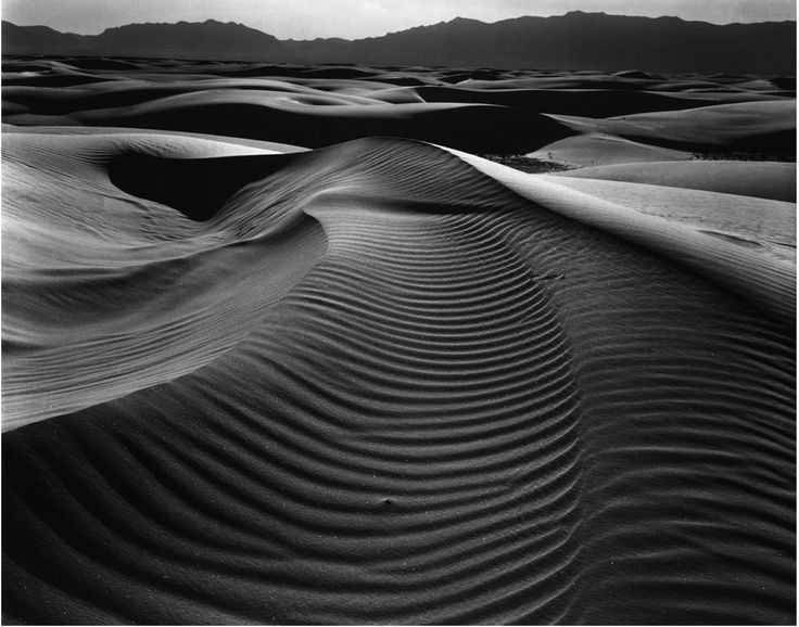 Dunes and Mountains White Sands, New Mexico, 1945   Brett Wetson