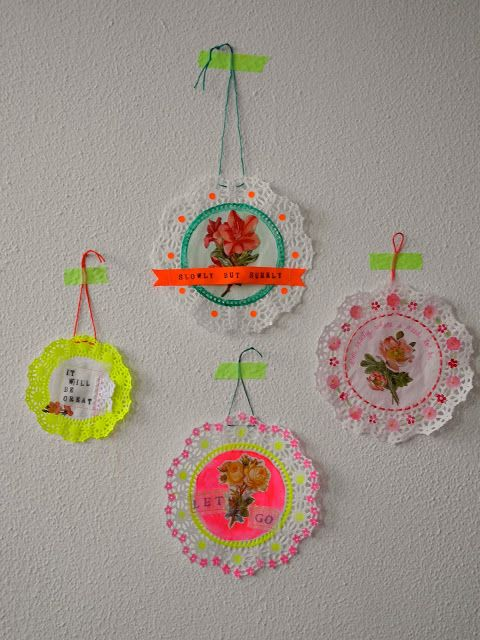 One Bunting Away: A Doily Obsession