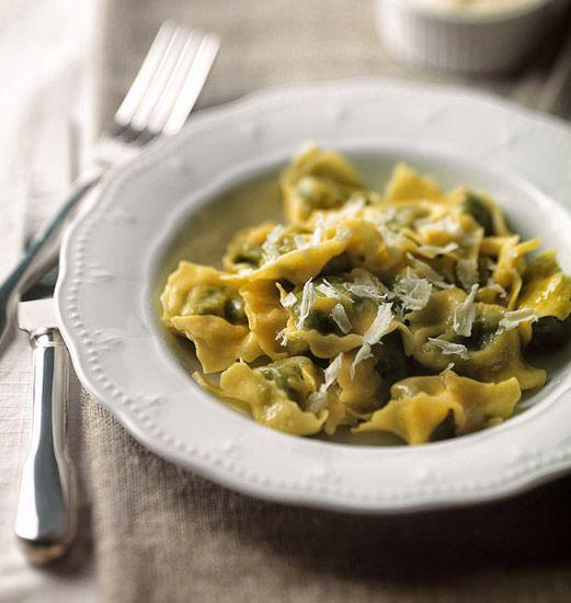 TORTELLI VERDI - Realizzati con spinaci o bietole verdi da abbinare con aromi, condimento, formaggio e ricotta,