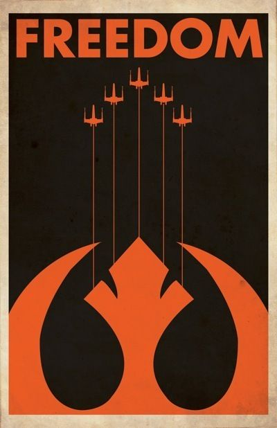 Celebrate Star Wars Day with These Sweet Propaganda Posters :: TV :: Galleries :: Paste