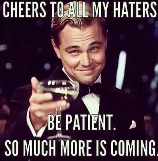 ha ha, you best believe it!!!! ;)