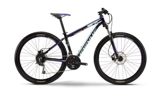 #Bicicleta #MTB #Hardtail #Haibike Life 7.40 Dama este echipata cu schimbător spate #Shimano Deore RD-M592, bicicleta Life 7.40 va trece peste obstacole fără ca schimbătorul să bată în cadru, grație tehnologie #Shadow.