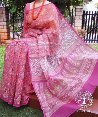 Beautiful Kota Silk Leheriya Saree