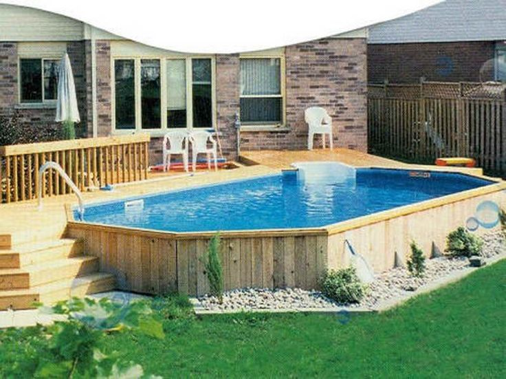 swimming pool decks pools above ground deck ideas pinterest images plans free