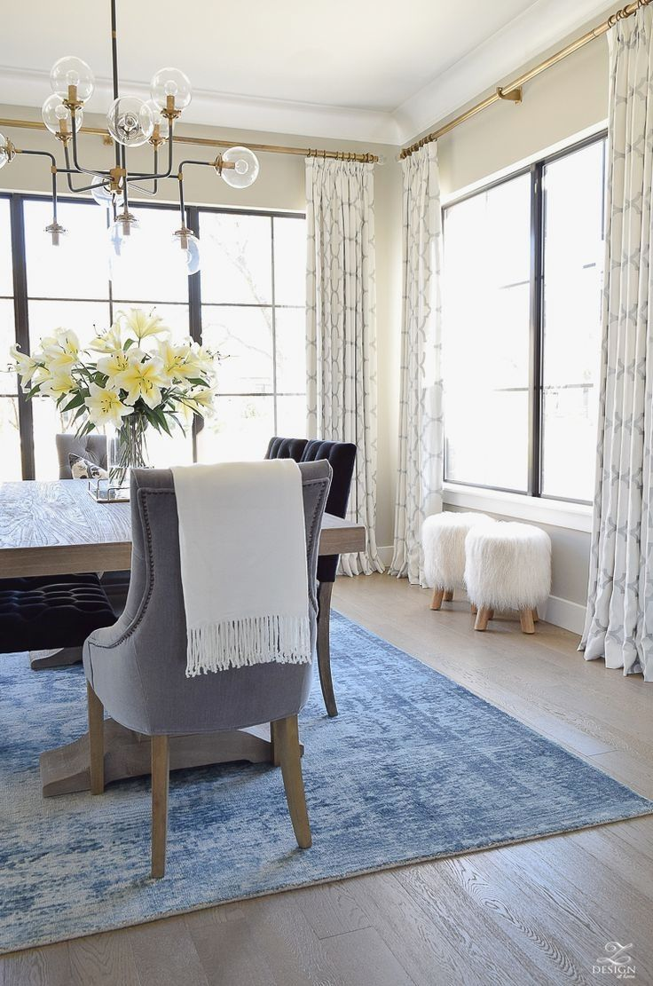 Bay Window Sheer Curtain Ideas In 2020 Window Treatments Living Room Dining Room Curtains Curtains Living Room