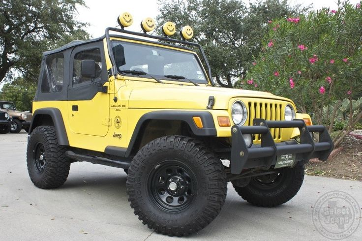 2001 solar yellow wrangler x 15 995 only 68k miles 5. Black Bedroom Furniture Sets. Home Design Ideas