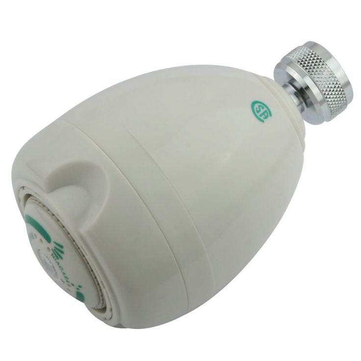Kingston Brass GK131A0 Water Saving Shower Head  1.5 GPM, White - Price: $10.95 & FREE Shipping over $99